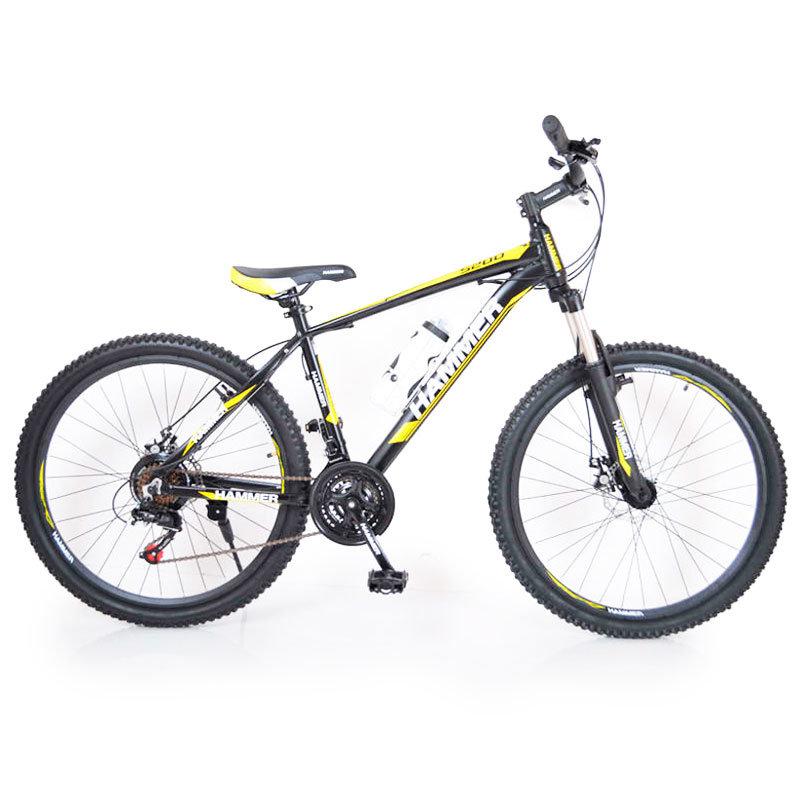 Горный подростковый Велосипед HAMMER-24 Black-Yellow