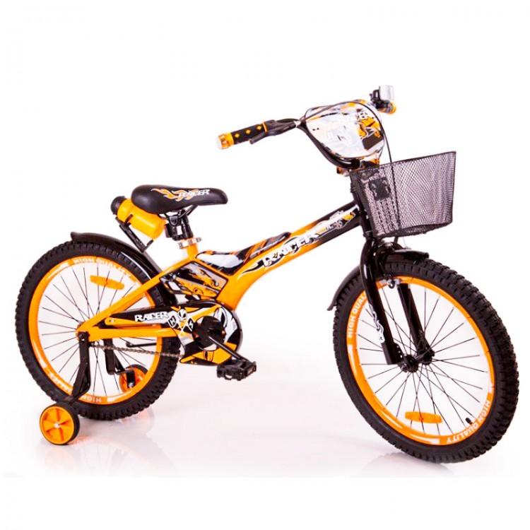 """Детский Велосипед """"Racer-18"""" дюймов Оранжевый"""
