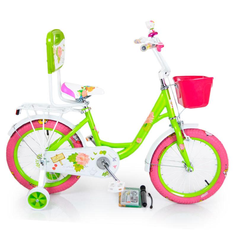 Велосипед 16-ROSES зеленый