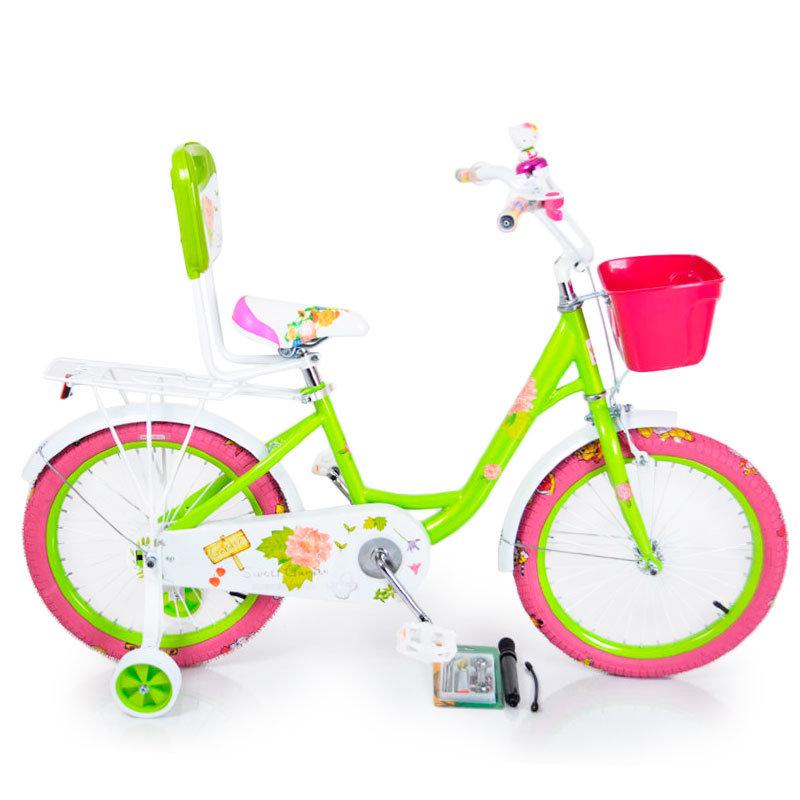 """""""18-ROSES"""" Green bike"""