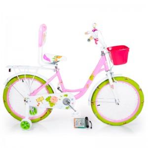 Велосипед 18- ROSES  рожевий