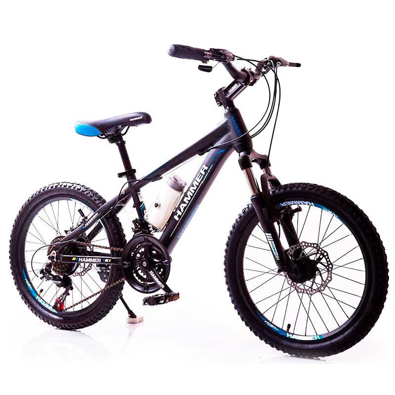 Велосипед HAMMER-20 чорно-синій