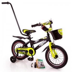 """Детский велосипед с ручкой  """"HAMMER-12"""" S600"""