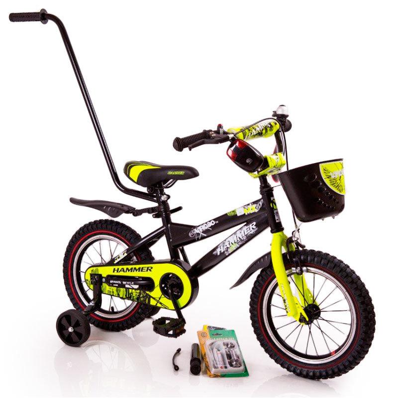 "Children's bike with handle ""HAMMER-12"" S600"