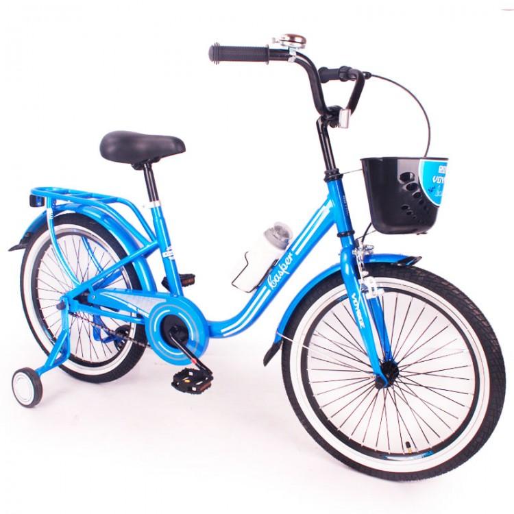 """Велосипед """"КАСПЕР-20"""" синій"""