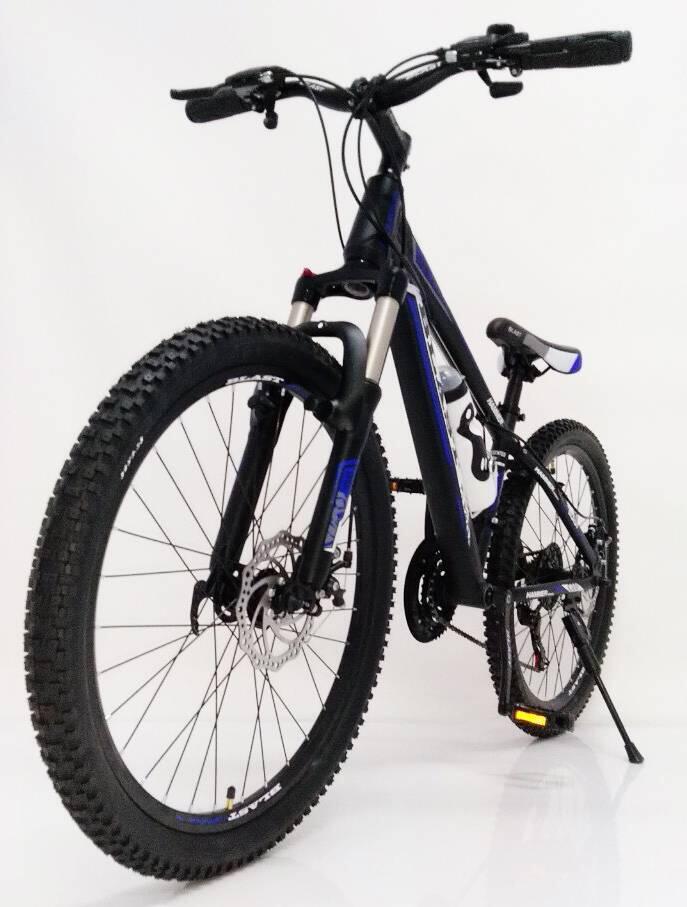 Горный Подростковый Велосипед S300 BLAST-БЛАСТ 26'' Чёрно-Синий