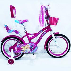 """Велосипед с ручкой """"Flora-16"""""""
