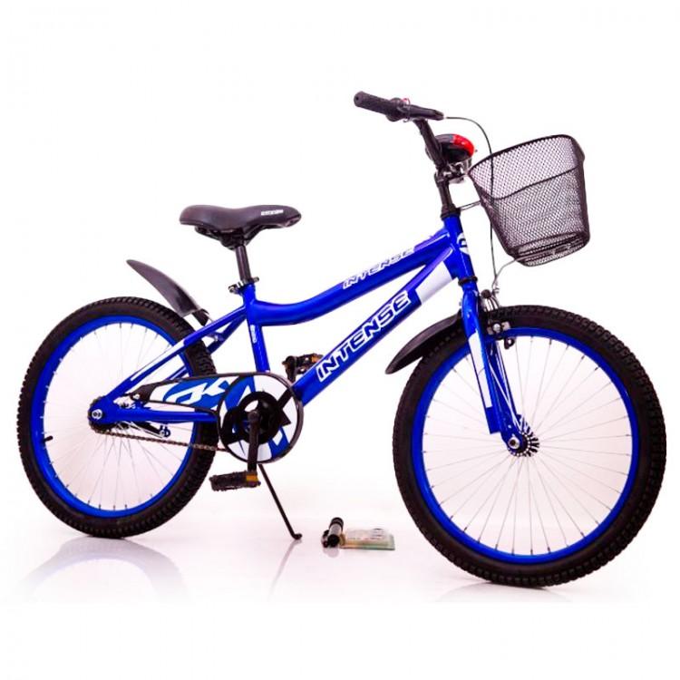 """Велосипед ІНТЕНСИВНИЙ 20 """"N-200 Темно блакитний"""