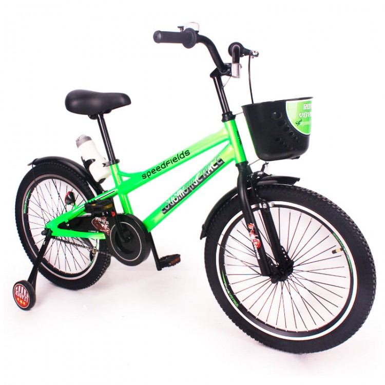 "Велосипед ""ZEBR CROSSING-20"" зелений"