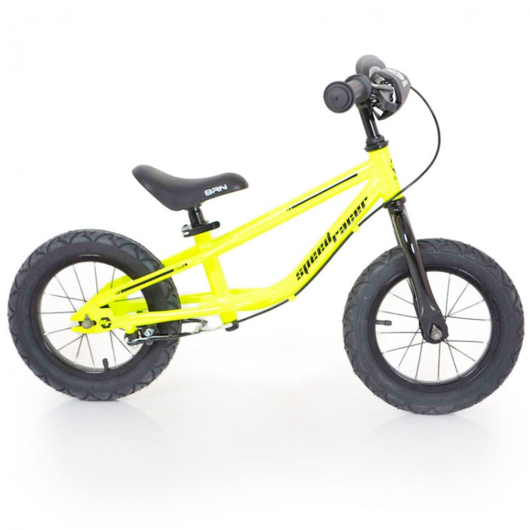 """Беговел 12""""(BRN)B-2 Yellow Air wheels"""