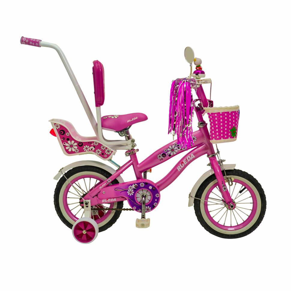 Велосипед детский  RUEDA 12-03B Цветочек