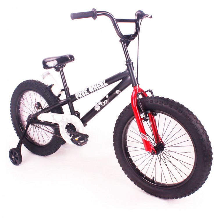"""Велосипед """"FREE WHEEL-20"""" чорний"""