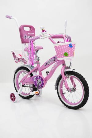 Дитячий велосипед з батьківською ручкою RUEDA 14-03B
