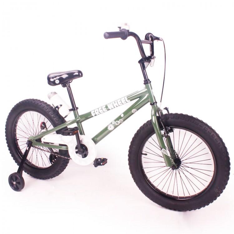 """Велосипед """"FREE WHEEL-20"""" зелений"""