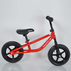 "Беговел 12""(BRN)B-2 Red Eva wheels"