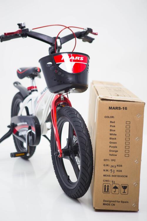 """Дитячій Велосипед """"Марс-16"""" Білий з 5 років"""