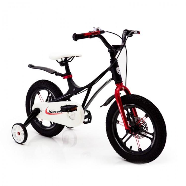 Детский Велосипед 14-MERCURY Магниевая рама Черный