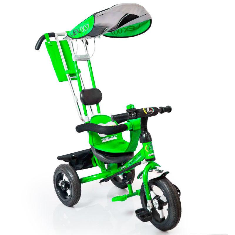 Велосипед Lex-007 (12/10 AIR wheels) Green