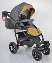 Детская коляска 2 в 1 AVALON BUENO Grey-brown