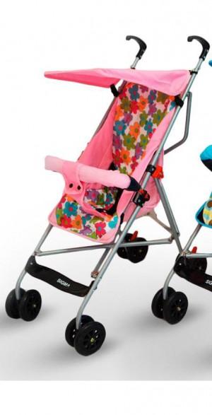 Дитяча коляска легка тростинка Сигма S-A-1 рожева