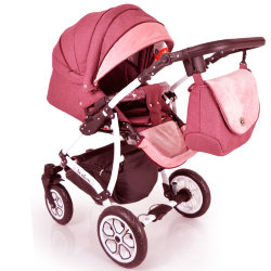 Baby Stroller 2 in 1 AVALON BUENO Terracota