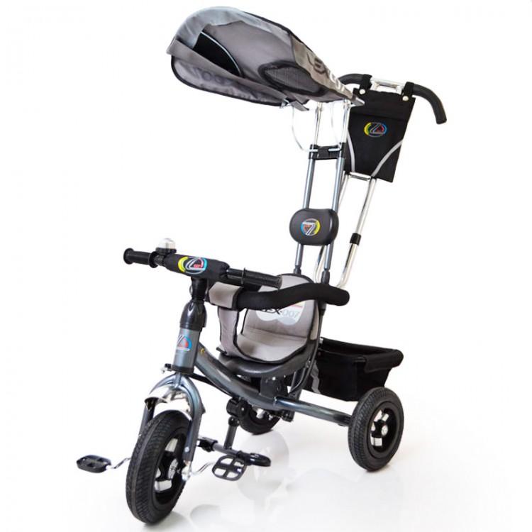 Велосипед Lex-007 (10/8 надувні колеса) сірий