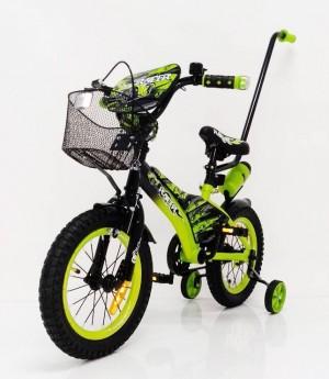 Дитячий велосипед з батьківською ручкою від 3 років