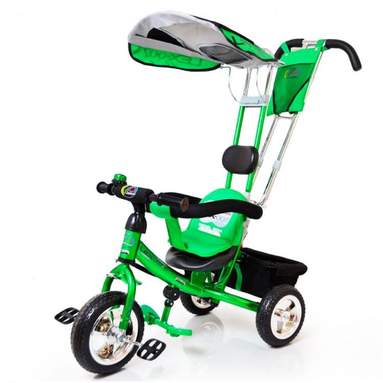 Дитячій ровер з ручкою Lex-007 (10/8 EVA колеса) зелений