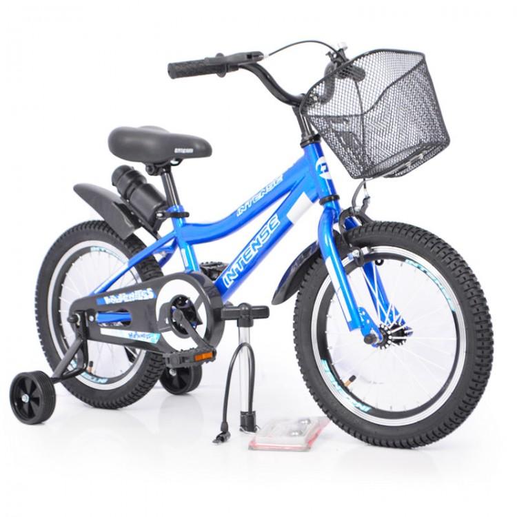 "Велосипед ИНТЕНСА 16 ""N-200 синій +Насос+Рем.коплект"