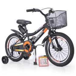 "Велосипед INTENSE 16"" N-200 Black +Насос+Рем.коплект"