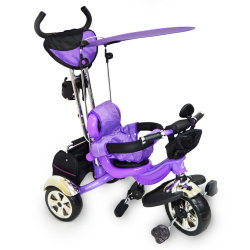 Bicycle Tri-wheeled Lexus-Trike LX-600 Purple