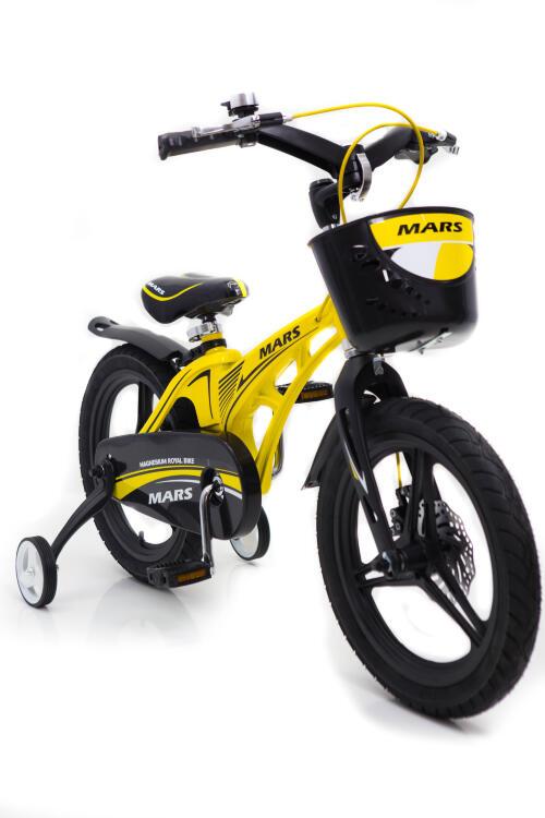 """Велосипед дитячий """"Марс-14"""" жовтый  з 4 років"""