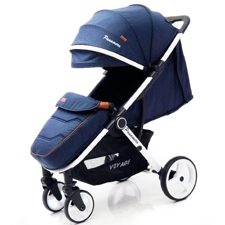 Детская коляска Panamera C689 Blue (White)