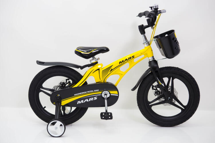 "Детский Велосипед ""MARS-16"" Желтый от 5 лет"