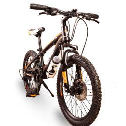 Горный Подростковый велосипед S300 BLAST-БЛАСТ 20'' Чёрно-Оранжевый