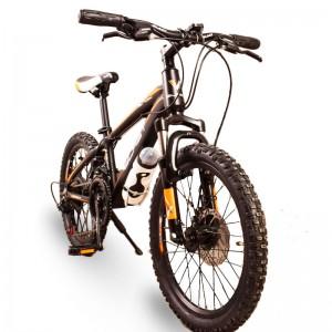 Гірський Підлітковий велосипед  S300 BLAST-БЛАСТ 20 ' ' чорно-помаранчевий (Алюміній)